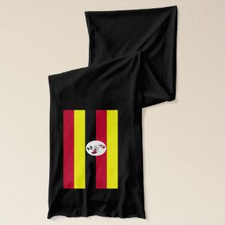 Uganda Flag Lightweight Scarf