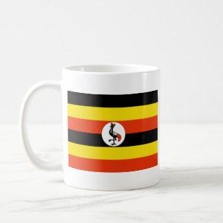 Uganda Flag ~ Map Mug