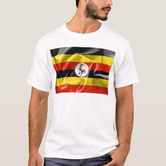 Uganda Flag Mens T Shirt