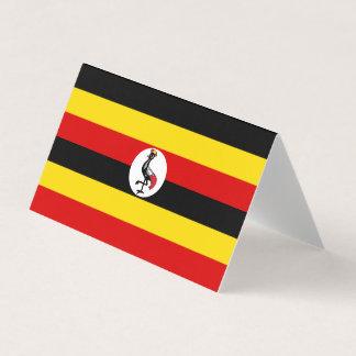 Uganda Flag Place Card