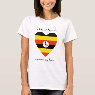 Uganda Flag Sweetheart T-Shirt