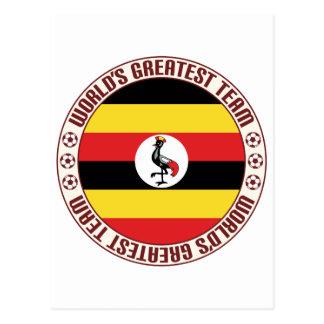 Uganda Greatest Team Postcard