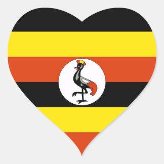 UGANDA HEART STICKER