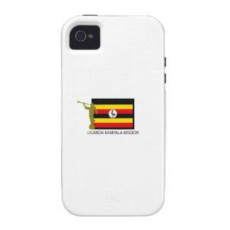 UGANDA KAMPALA MISSION LDS CTR iPhone 4/4S CASES