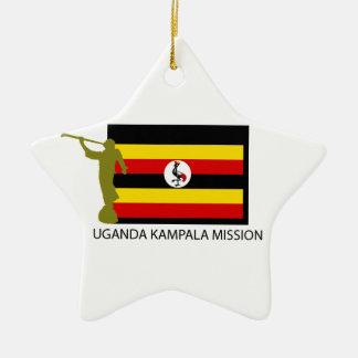 UGANDA KAMPALA MISSION LDS CTR ORNAMENTS