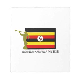 UGANDA KAMPALA MISSION LDS CTR MEMO NOTEPAD