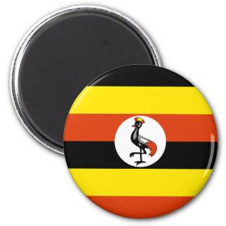 Uganda, Uganda flag Magnet