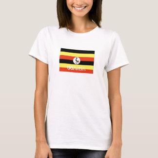 Uganda ugandan flag souvenir t-shirt