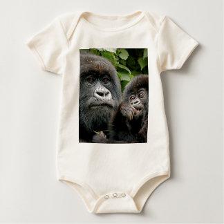 Ugandan Gorillas Baby Bodysuit