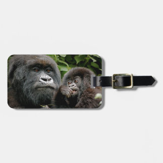 Ugandan Gorillas Luggage Tag