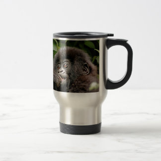 Ugandan Gorillas Travel Mug
