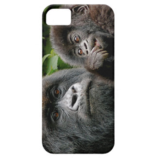 Ugandan Mother and Baby Gorilla Barely There iPhone 5 Case