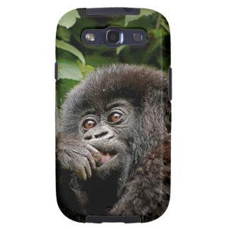 Ugandan Mother Baby Gorilla Galaxy S3 Case