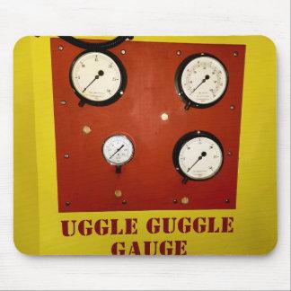 Uggle Guggle Gauge Mousemat