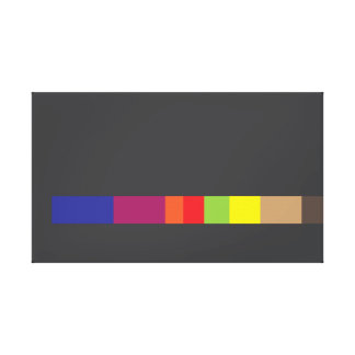 Ugly Abstract Design Canvas Canvas Prints