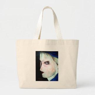 UGLY Angry Woman Jumbo Tote Bag