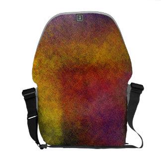 Ugly awful pattern messenger bag