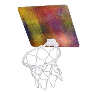 Ugly awful pattern mini basketball hoop