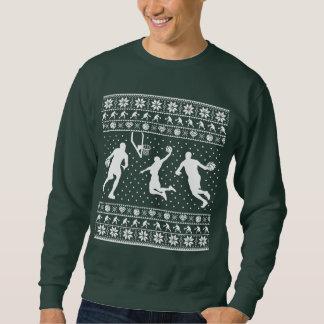 Ugly basketball Christmas Sweater