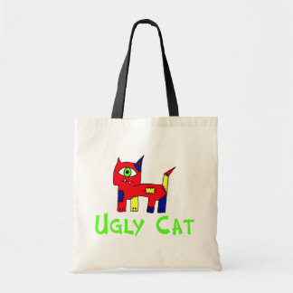 Ugly  Cat Budget Tote Bag
