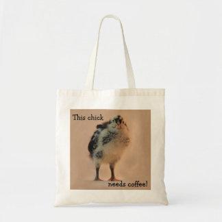 Ugly Chick Budget Tote Bag
