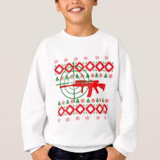 Ugly Christmas gun Sweatshirt