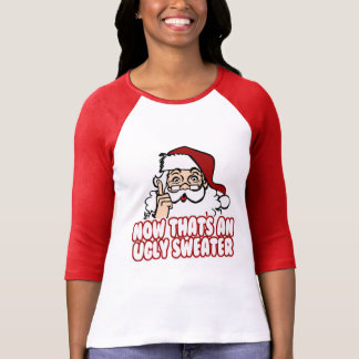 Ugly Christmas Swear Santa Claus T-Shirt