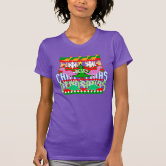 Ugly Christmas Sweater Dinosaurs T-Shirt