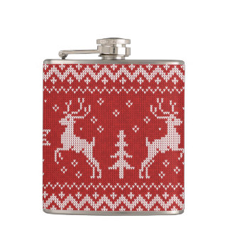 Ugly Christmas Sweater Flask