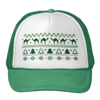 Ugly Christmas Sweater Hump Day Camel Hat