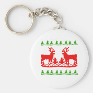 Ugly Christmas Sweater Key Chains