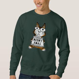 Ugly Christmas Sweater -- Meowy Xmas