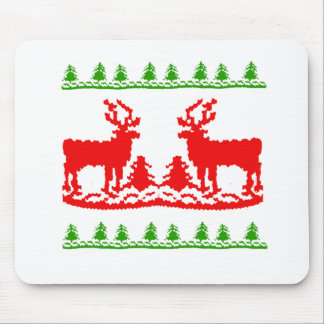 Ugly Christmas Sweater Mouse Pad
