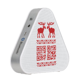 Ugly Christmas Sweater QR Code Happy New Year !