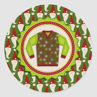Ugly Christmas Sweater Stickers