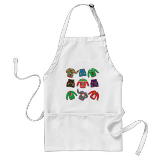 Ugly Christmas Sweaters and Vests Standard Apron