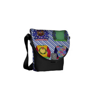 Ugly Christmas Sweaters Courier Bag