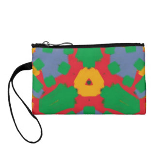 Ugly colorful pattern change purses