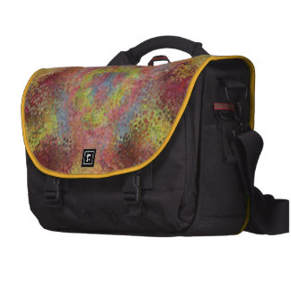 ugly colorful pattern computer bag
