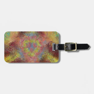 ugly colorful pattern tags for bags