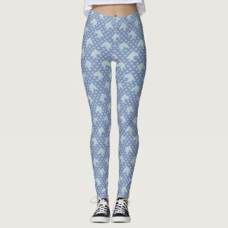 Ugly Duck Egg Blue Pony Leggings