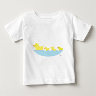 ugly duckling in a pond baby T-Shirt