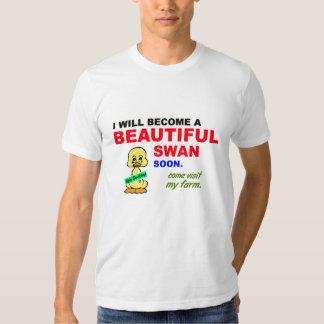 """Ugly Duckling on My Farm"" Basic AA T-Shirt"