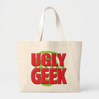 Ugly Geek Tote Bags