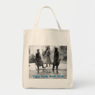 Ugly Girls Book Club Grocery Bag