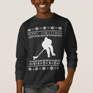 Ugly Hockey Christmas Sweater