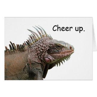 Ugly Iguana Card