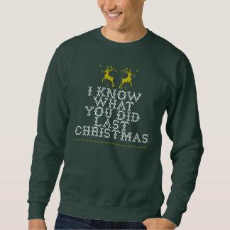 Ugly last christmas sweatshirts