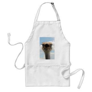Ugly Man Ostrich Standard Apron