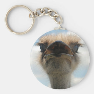 Ugly Man Ostrich Key Ring